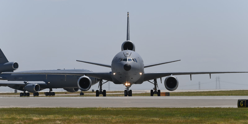 USAF KC-10A at Travis AFB Air Show