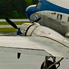 * DC-3 Waits in the Rain