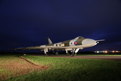 Vulcan XM655 Timeline Photoshoot, Wellesbourne Airfield, 28th October 2017