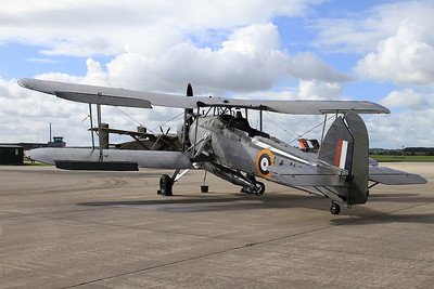 RNHF Fairey Swordfish Mk.1, W5856, on the pad ready for later display - 02/07/16.