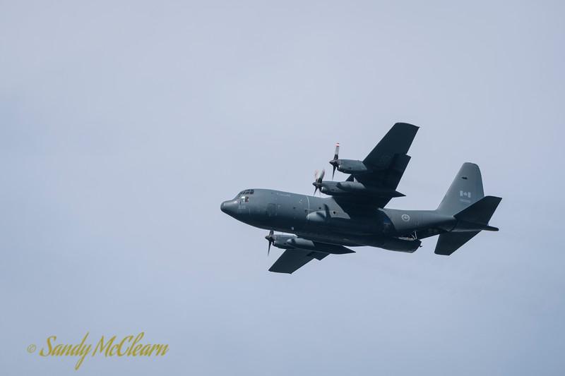 RCAF C-130.