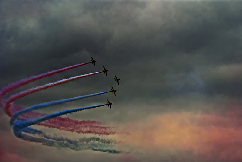 Red Arrows from 2010
