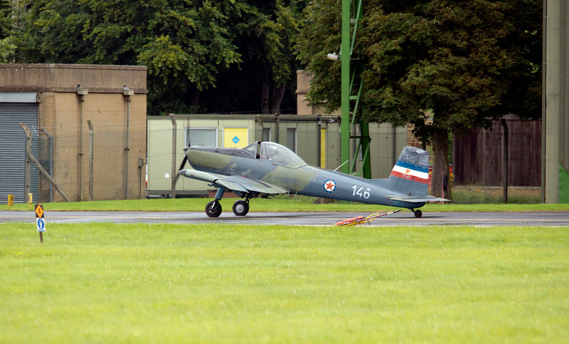 Soko/Yak-52 at RAF Linton on Ouse