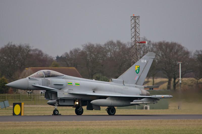 RAF Eurofighter Typhoon FGR4 ZJ927 / QO-M - 3 Squadron