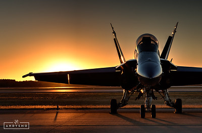 Blue Angel Sunset