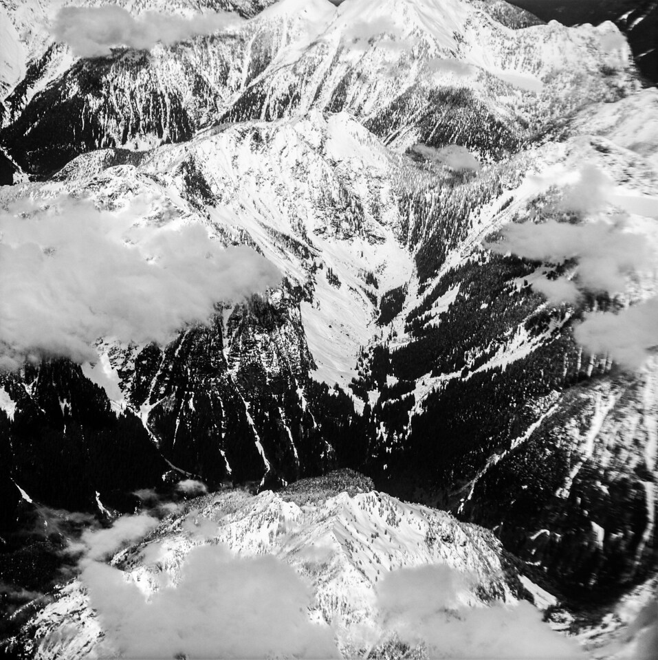Mountain from Air, 1991