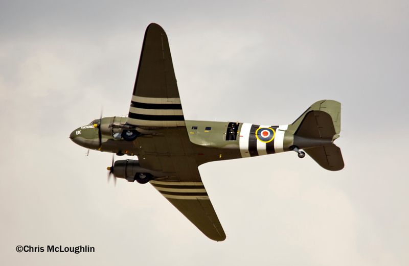 RAF Battle of Britain Memorial Flight C-47 Dakota ZA947