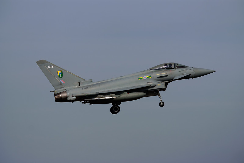 Eurofighter Typhoon F2 - RAF Coningsby