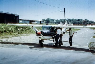 Cessna 150 AFROTC flight training