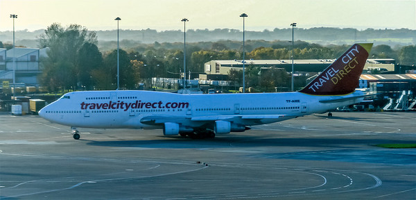 TravelCityDirect Boeing 747-321