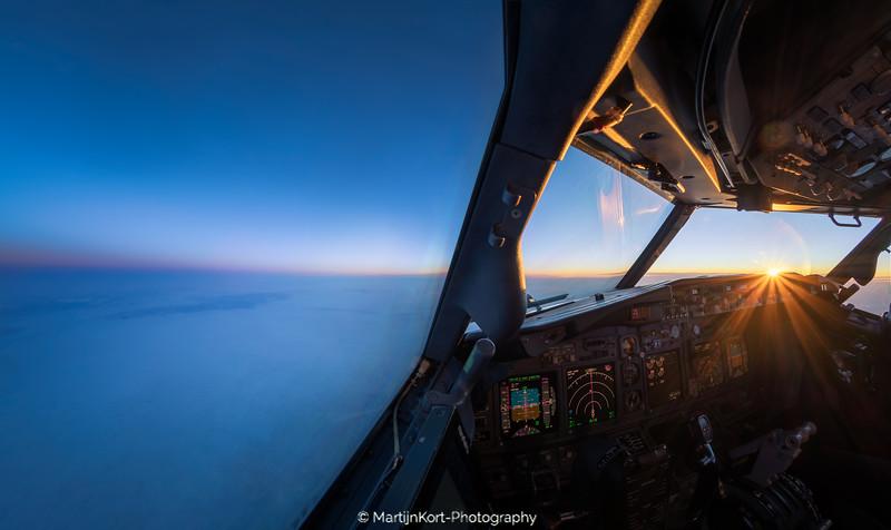 Sunrise towards Kitila
