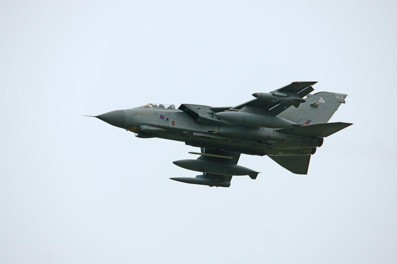 Tornado GR.4 ZG713 123 at RAF Linton on Ouse