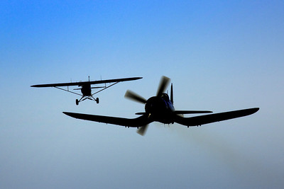 Piper Cub & Corsair