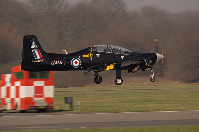 Tucano T1, Landing at RAF Linton on Ouse