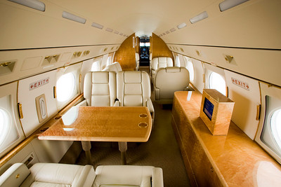 Embraer Legacy Interior