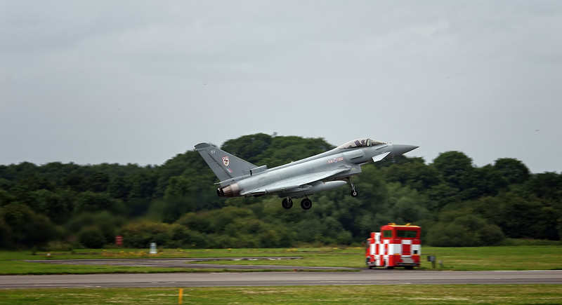 Eurofighter Typhoon at RAF Linton on Ouse