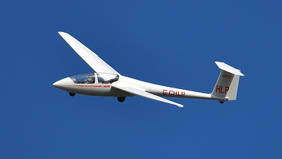 Glider over South Downs