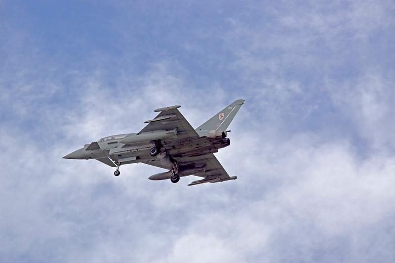 RAF Typhoon, 29 Sqn,  ZK379 BB
