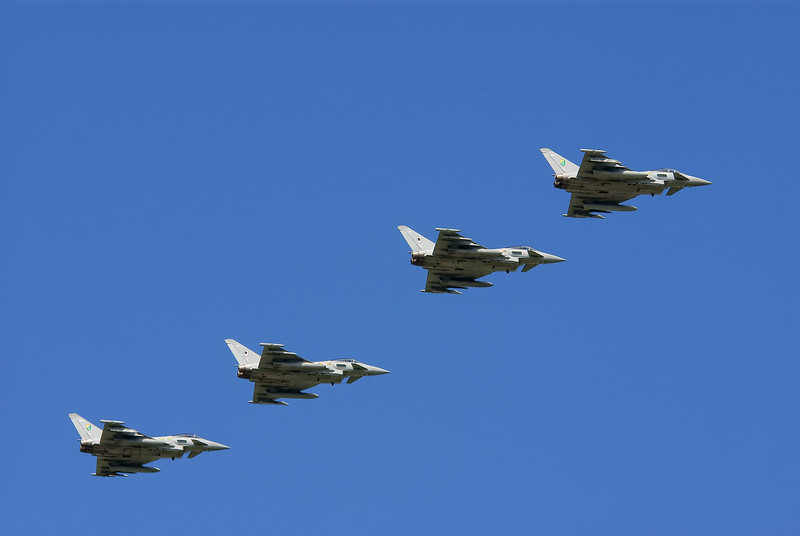 Eurofighter Typhoon's - RAF Coningsby