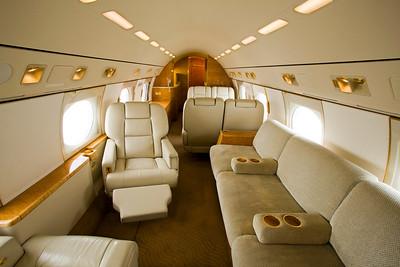 Gulfstream G-IV Interior