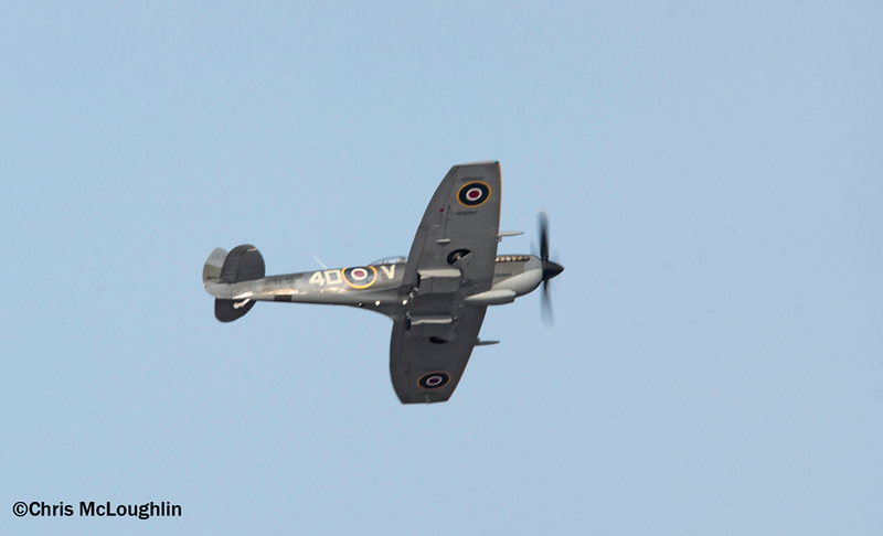 Battle of Britain Memorial Flight Spitfire Mk XVIe