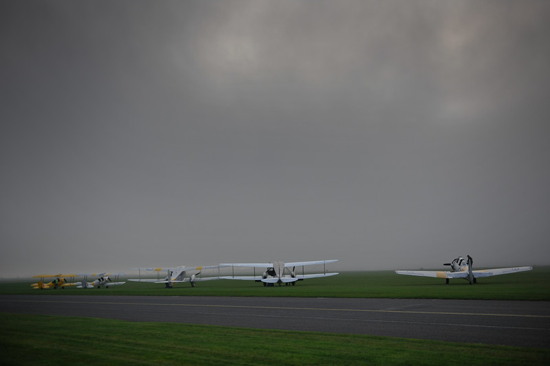 Early morning mist & Fog at Duxford