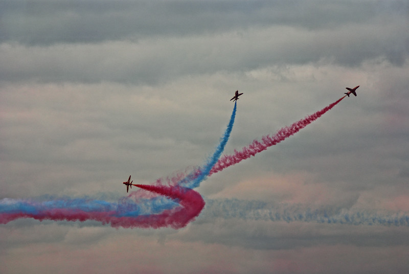 Red Arrows - Linton on Ouse 2010