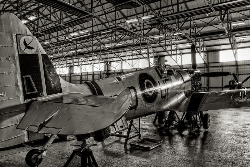 RAF Battle of Britain Memorial Flight Hanger