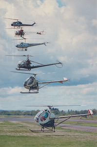 Conquest Helicopters Fleet of Rotorcraft