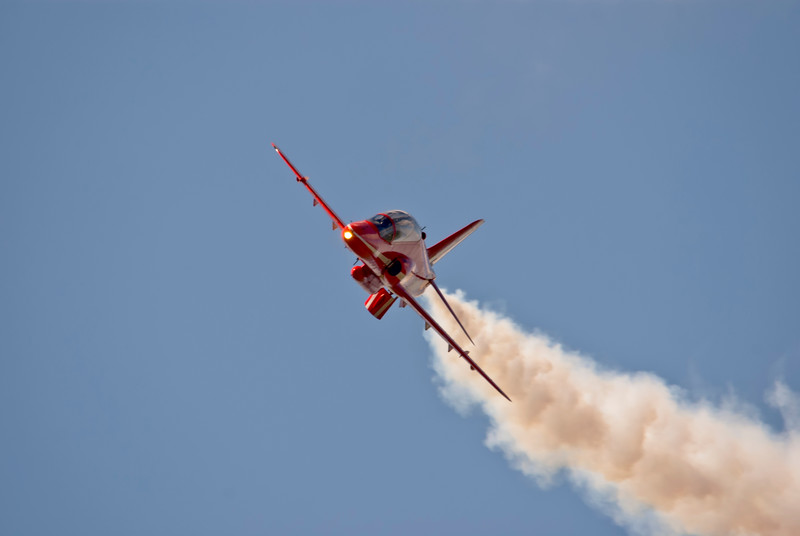 Red Arrows from April 2010 at RAF Scampton