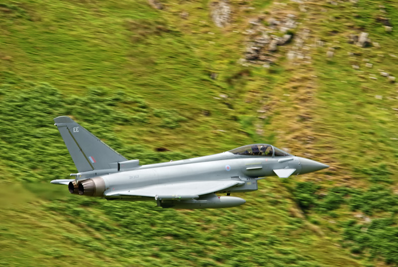 Eurofighter Typhoon - Dunmail Raise in the Lake District