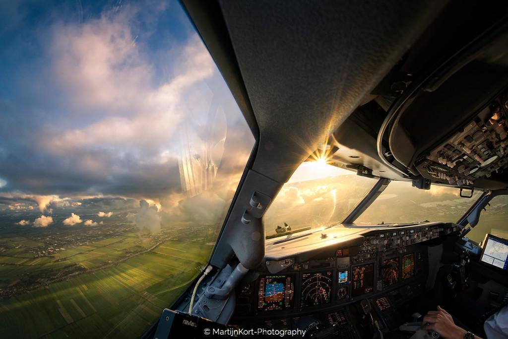 Amsterdam clouds