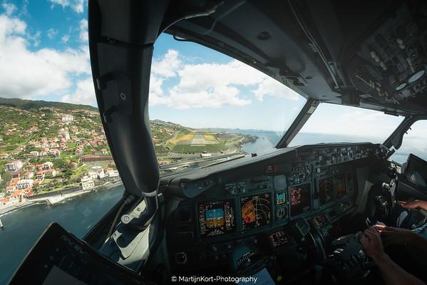 Final Approach at Madeira