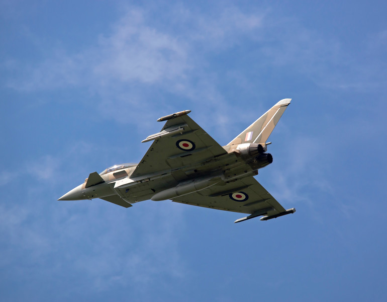 RAF Display Typhoon FGR.4 [ZK349] BBMF Livery
