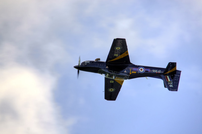 RAF Shorts Tucano T1