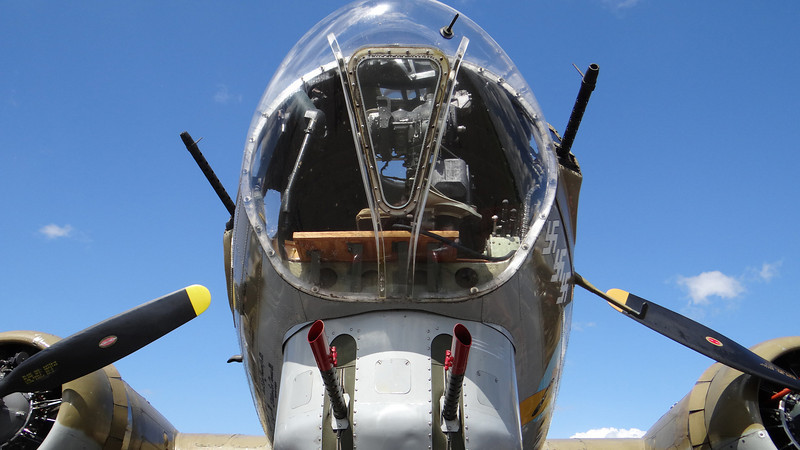 B-17 Flying Fortress, WWII aircraft