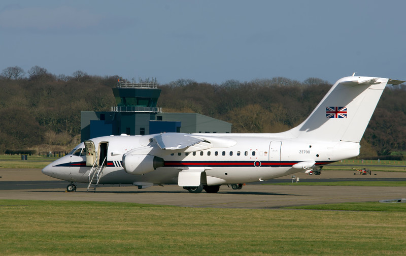 RAF Royal Flight ZE700