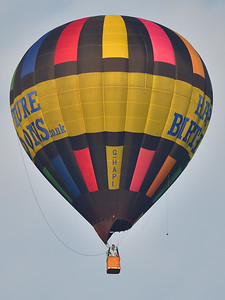 Hot Air Balloon over West Sussex
