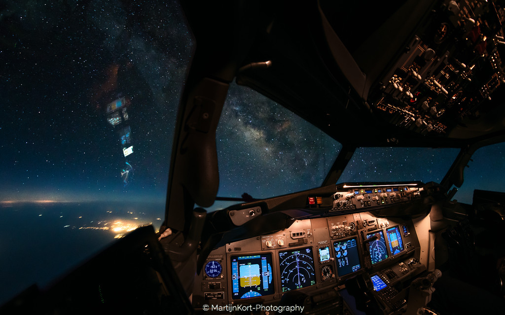 Milkyway from the cockpit