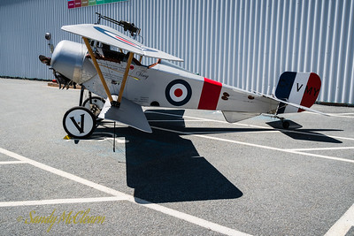 Replica Nieport XI of the Vimy Flight during its visit to Halifax.