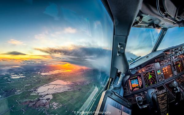 Sunrise over Vinkeveen