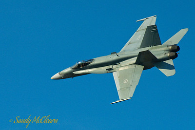 CF-18 flight demo.