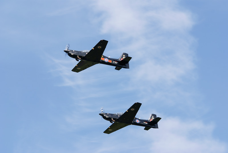 RAF Shorts Tucano