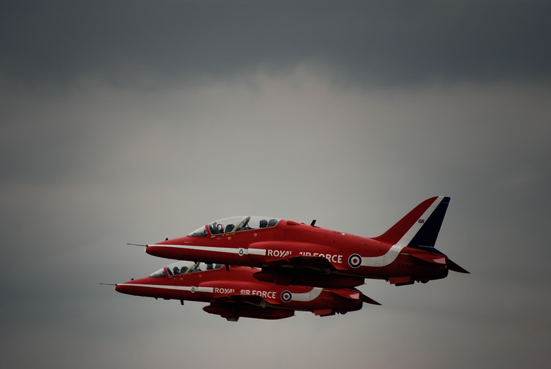 Red Arrows - RAF Linton on Ouse 2010