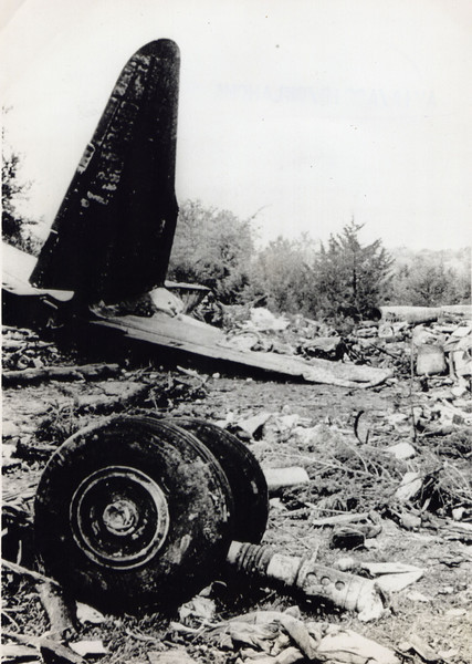 American Flyers Airlines Lockheed L-188 Electra N183H 22 April 1966<br /> <br /> The worst crash (in terms of fatalities) to happen in the state of Oklahoma was on 22 April 1966. The Electra was flying a charter for the Army when it crashed on approach to the Ardmore Municipal Airport (the former Ardmore AFB). Of the 93 passengers and five crew, only 15 passengers survived. It was determined the Captain (also the president of the airline) suffered a heart attack and slumped over the controls. The co-pilot didn't have time or altitude to recover the airplane before impact.