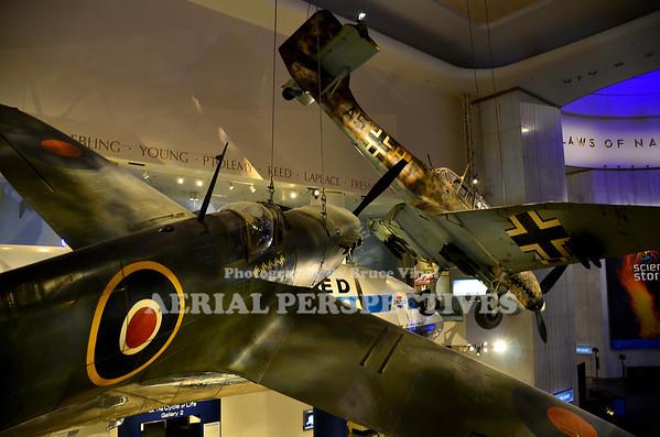1941 Junkers Ju-87R-2 Tropical Stuka / Supermarine Mark 1A Spitfire