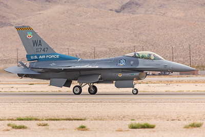 United States Air Force General Dynamics F-16CG 90-0747 11-12-17 3