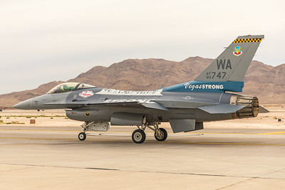 United States Air Force General Dynamics F-16CG 90-0747 11-12-17 4