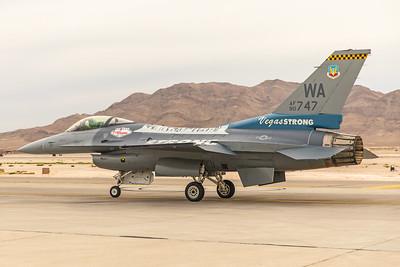United States Air Force General Dynamics F-16CG 90-0747 11-12-17 4