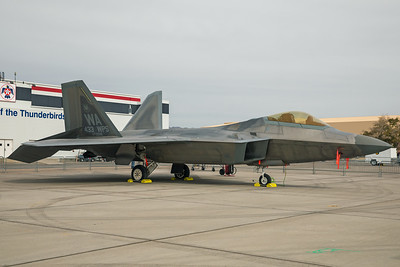 United States Air Force Lockheed Martin F-22A 06-4116 11-12-17 2